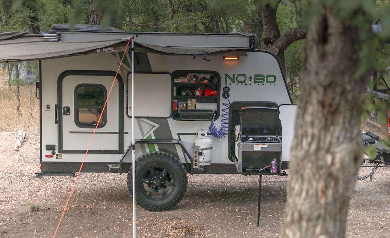 Ultimate adventure trailer. 180 degree canopy, pantry, slide out kitchen and freshwater hose. . Forest River Other 2019