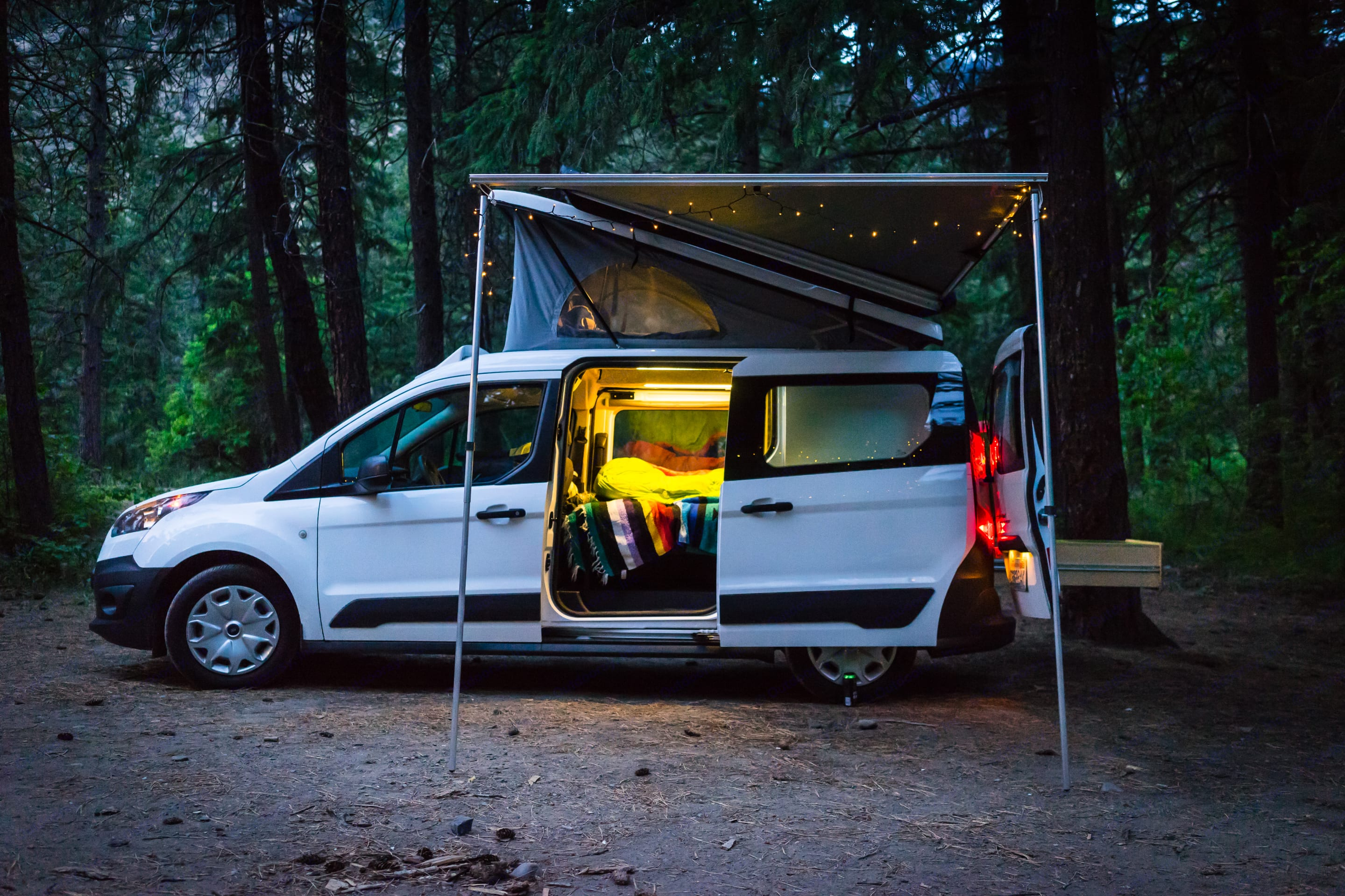 Meet the Gnar-V!. Ford Transit Connect 2016