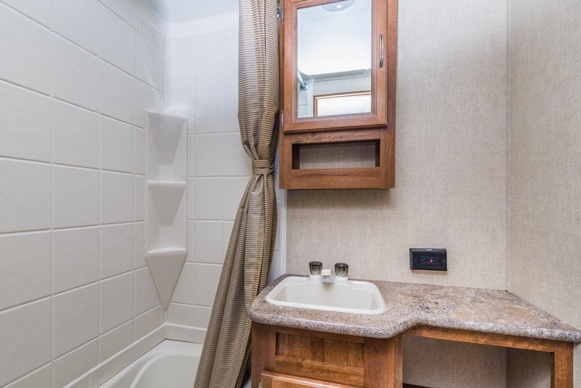 Bathroom. Gulf Stream Innsbruck 2015