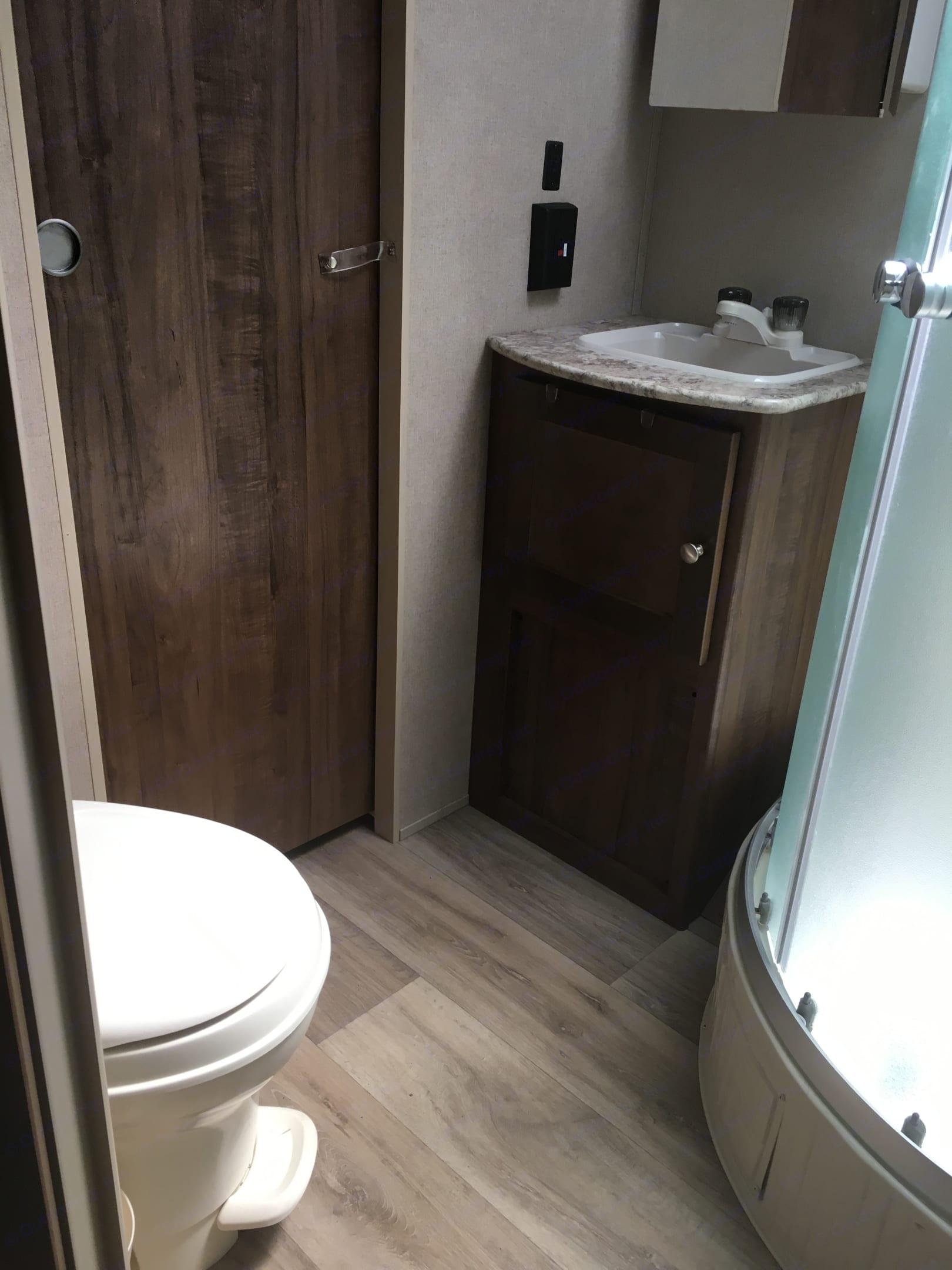 Bathroom . Aspen 2390RKSWE 2018
