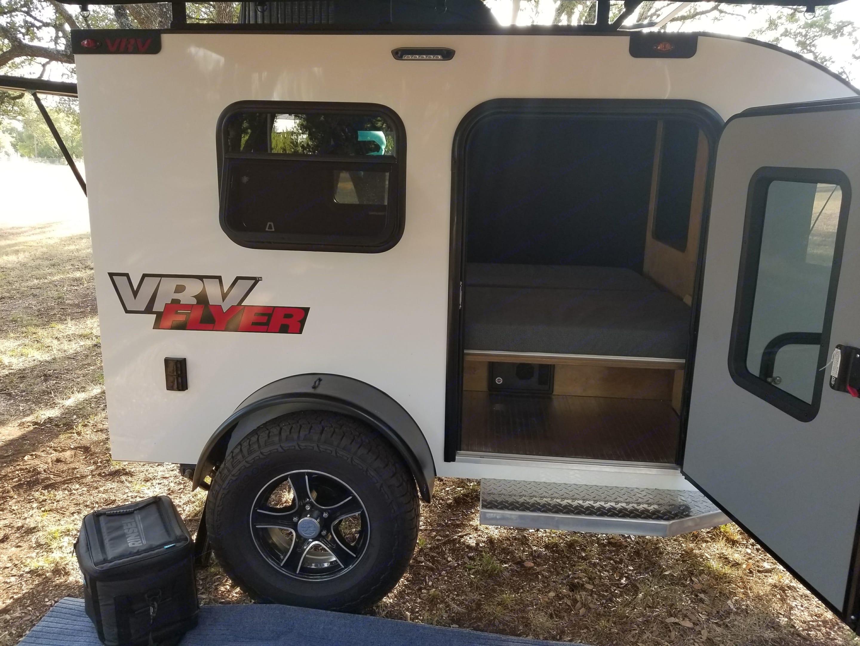 Side door entry.. Custom Teardrop Camper 2018