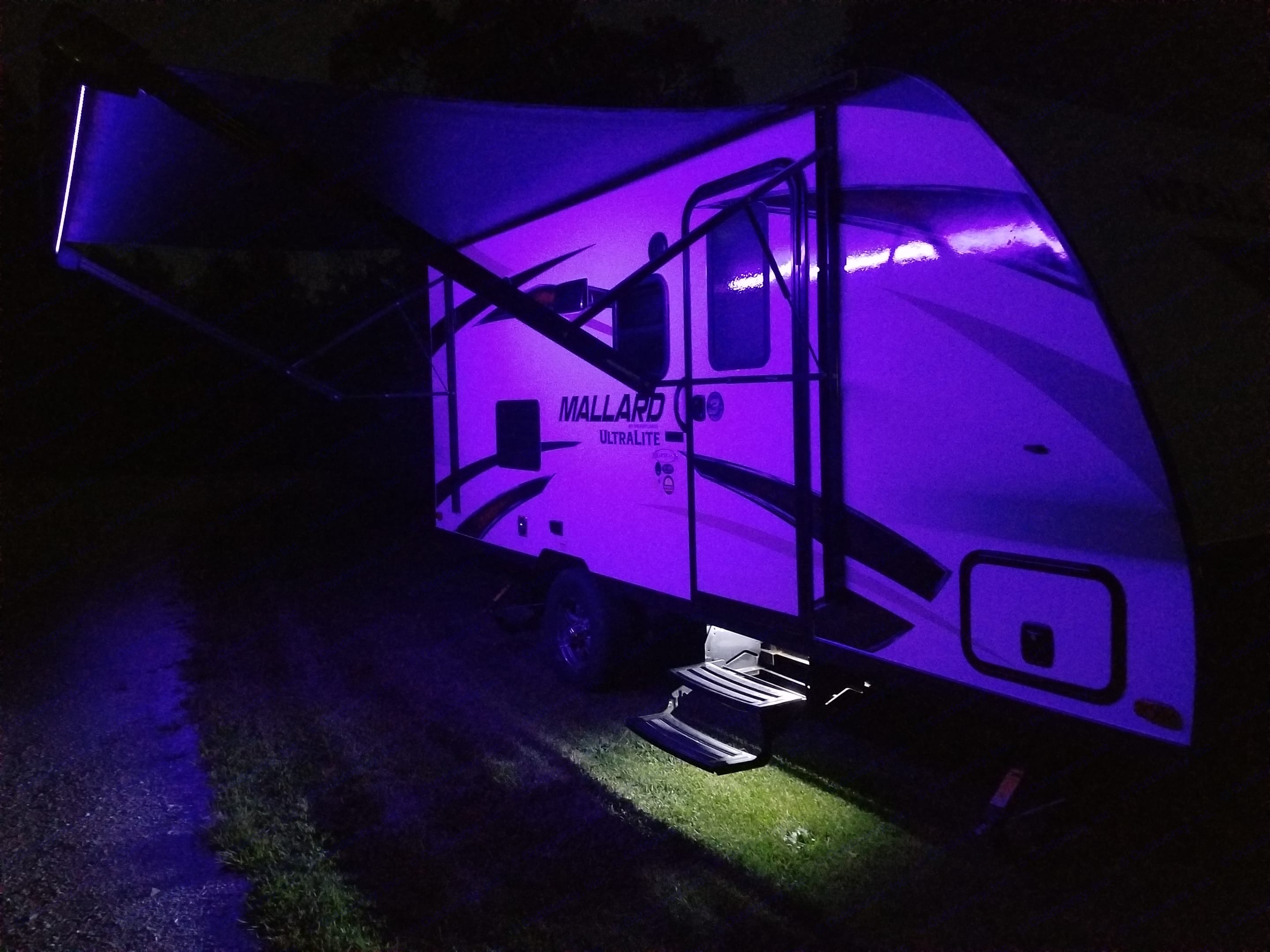 Color Changing LED Lights with Remote. Heartland M185 2018