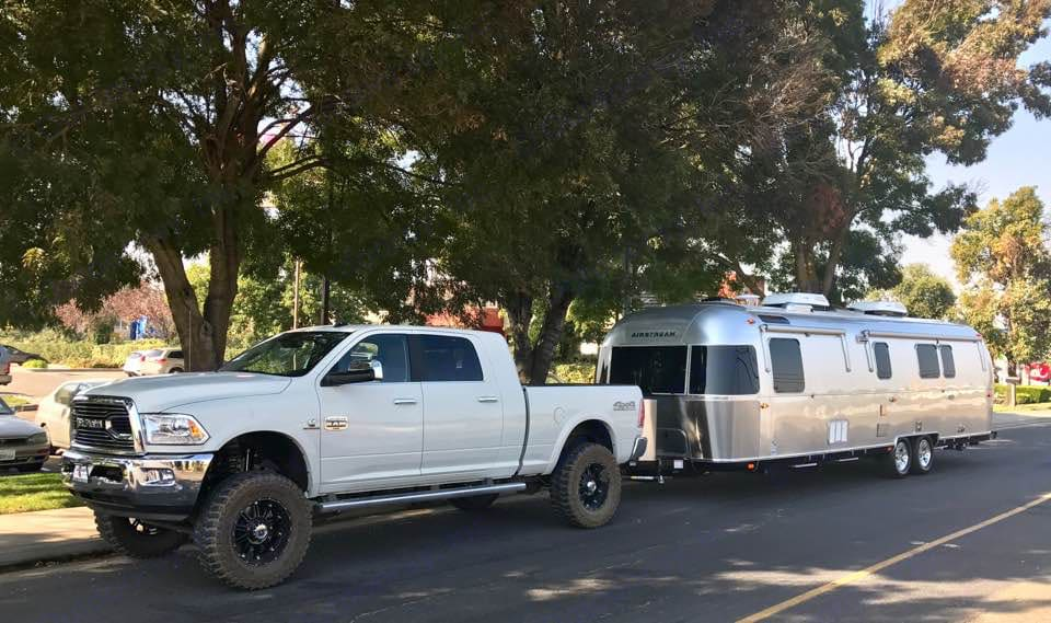 The silver bullet is so easy to pull ... you will hardly notice it's there as you glide down the road.. Airstream Classic 2018