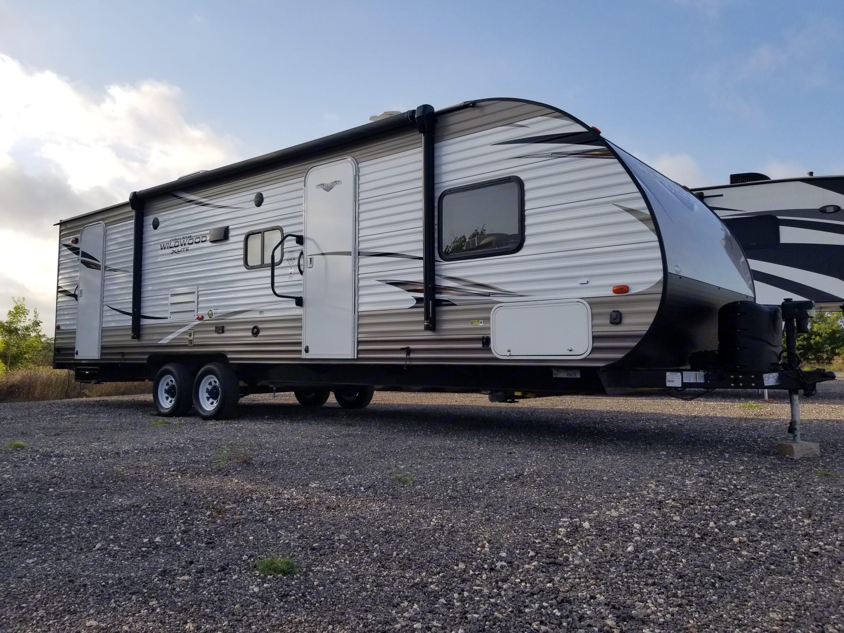 Take this Bunkhouse on your next trip. Forest River Wildwood X-Lite 2018
