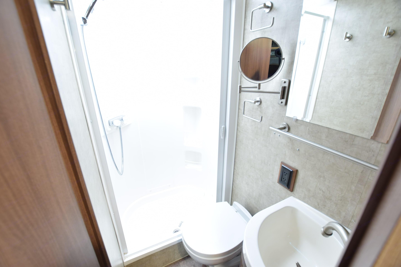 Bathroom. Winnebago Trend 2016