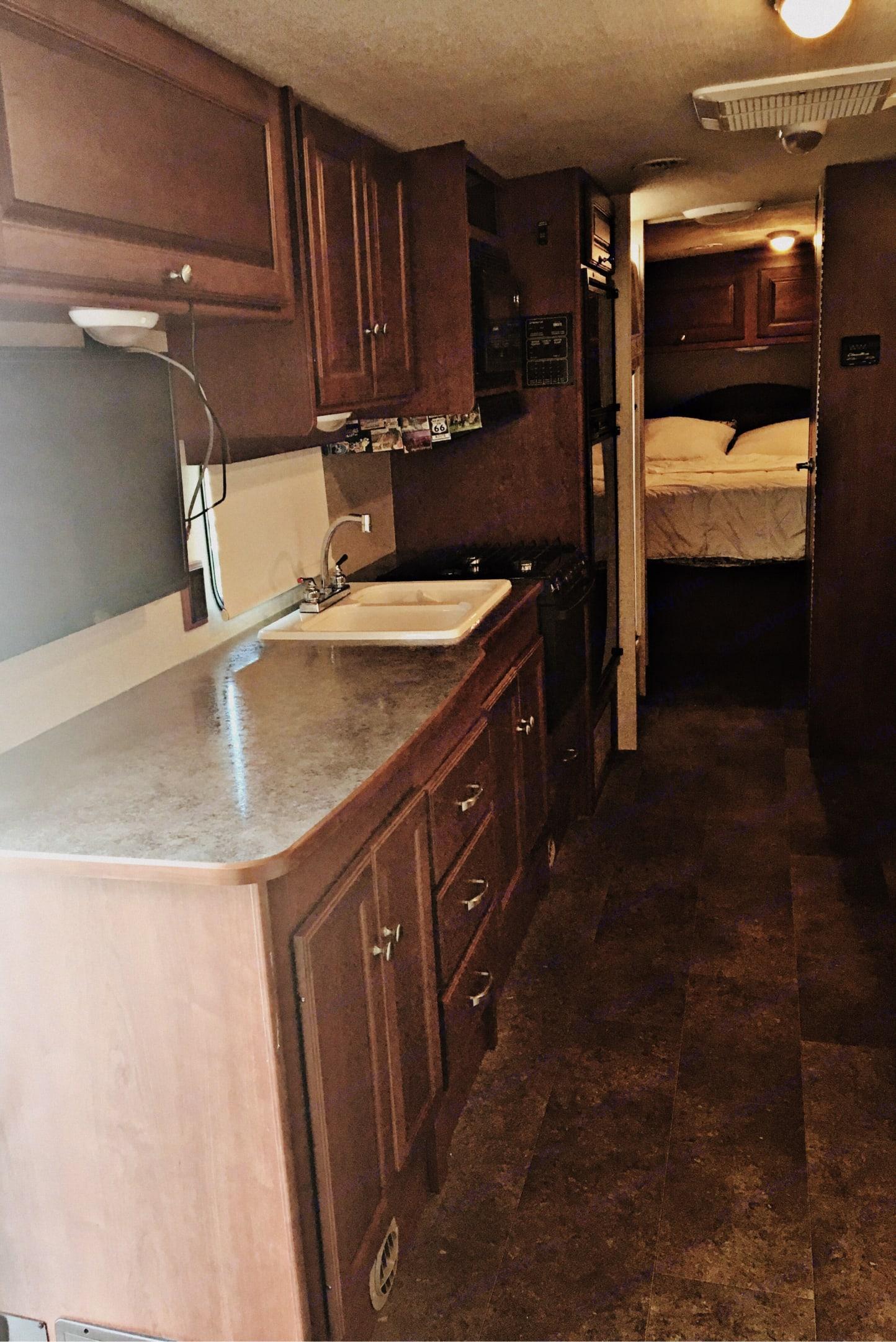 Kitchen. Winnebago Vista 2015