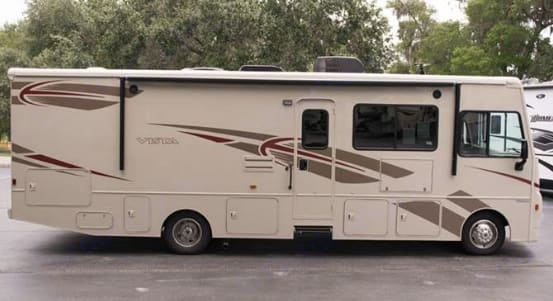 Ready and waiting to roll. Winnebago Vista 2016