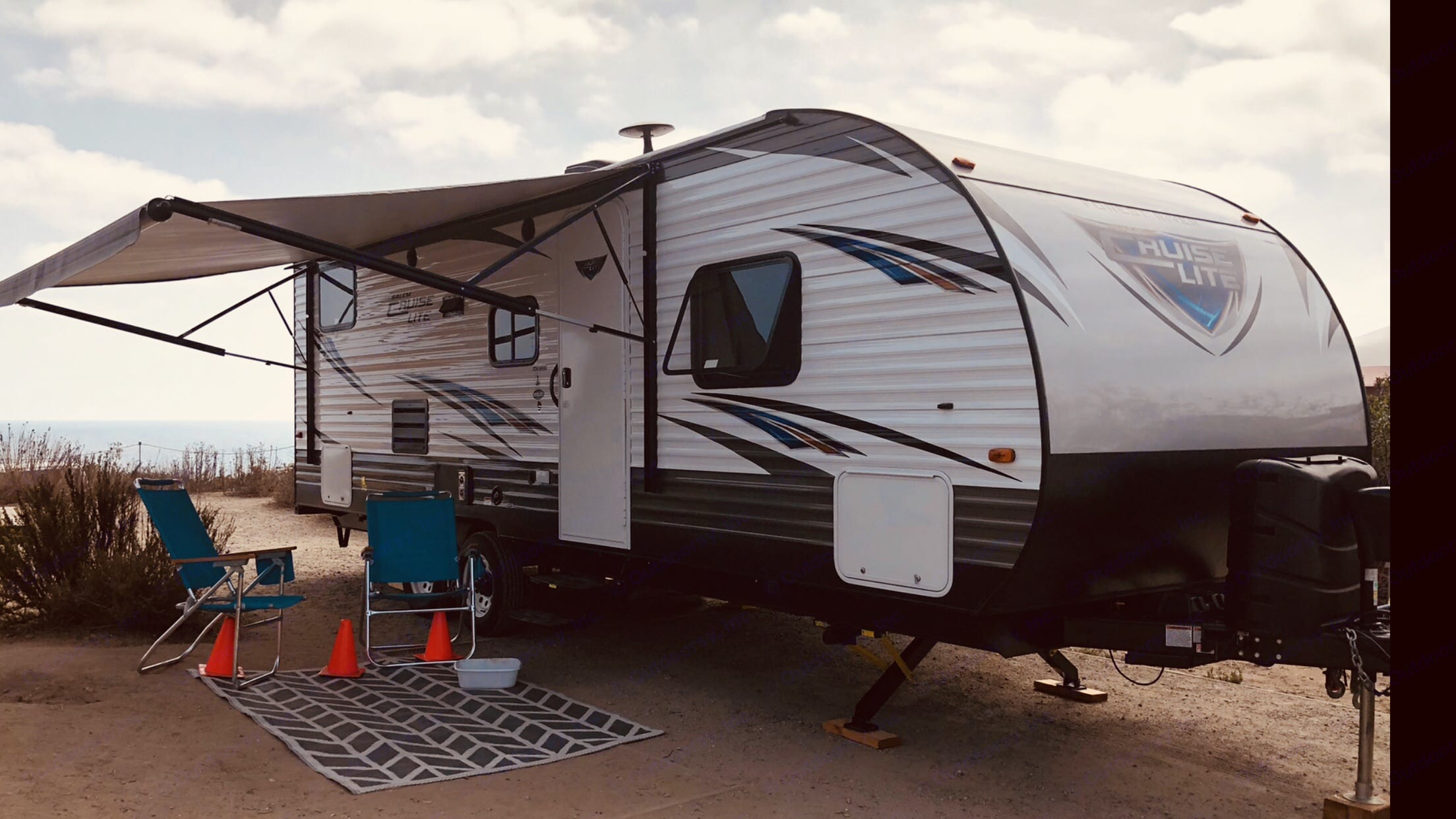 "Crystal Cove ""El Morro"". Forest River Salem Cruise Lite BHXL 2018"