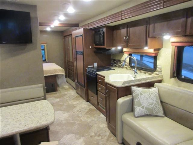 The view you get when you step inside is that of a home away from home!. Thor Motorcoach ACE 29.3 2017