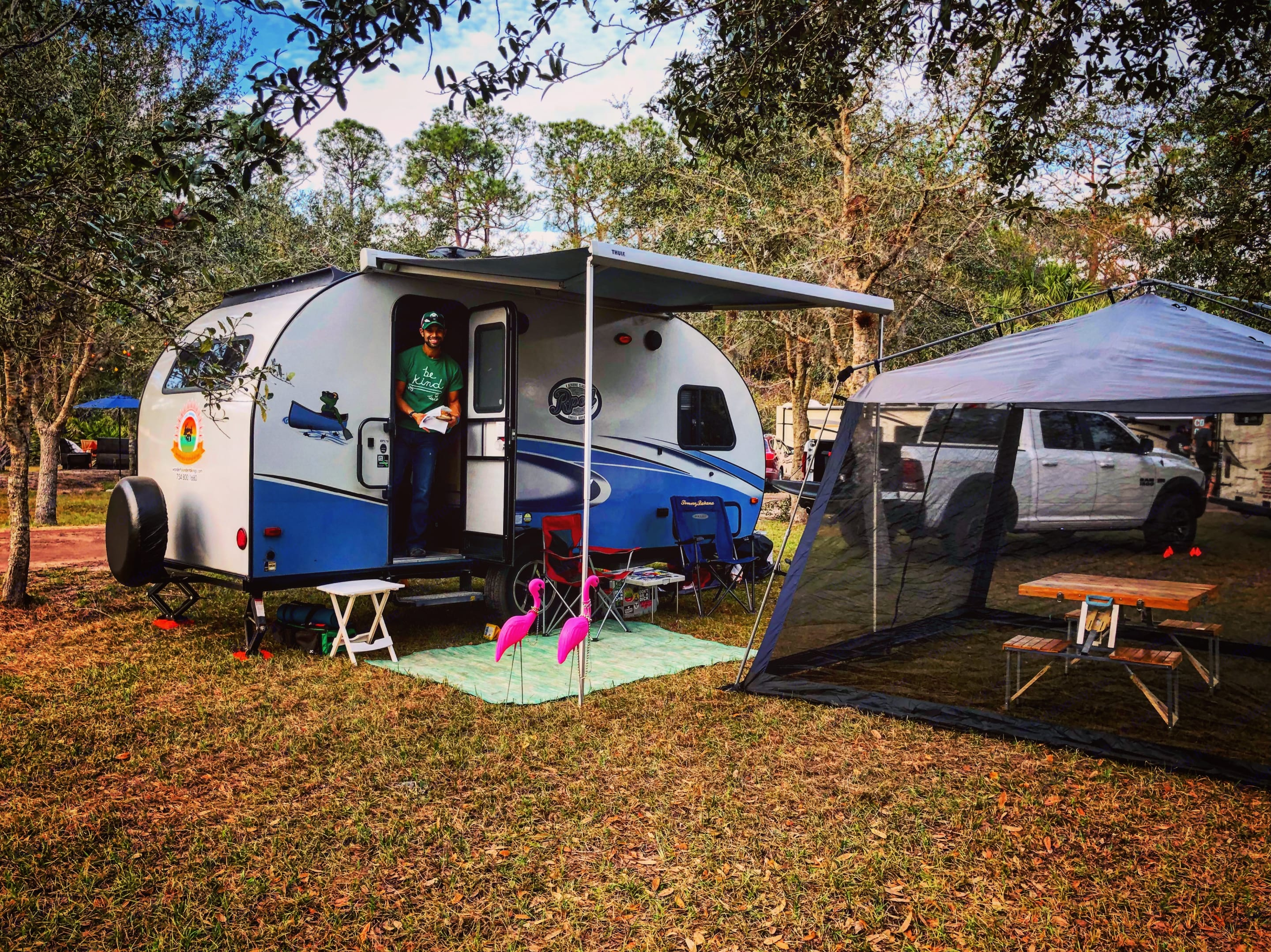 Great for dry camping at small festivals! -Actual travel trailer setup!. Forest River R-Pod 2018