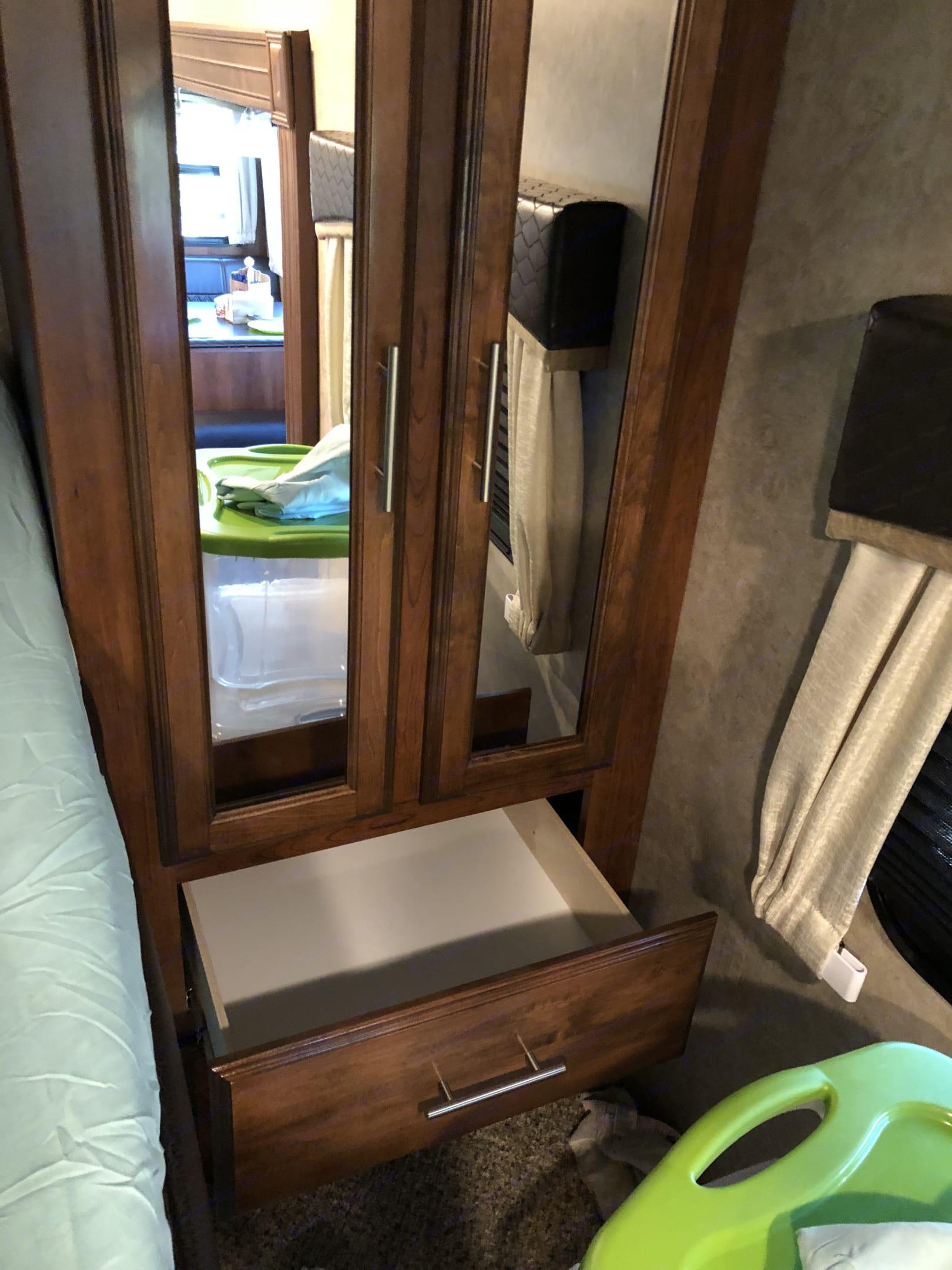 Bunk bed storage . Jayco Eagle 2018