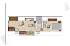 Floor Plan 2018 Chaparral sleeps 11 Travel Trailer RV Rental Sleeps 10. Coachmen Chaparral 2018
