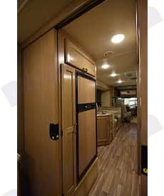 View from master bedroom door. Thor Motor Coach A.C.E 2018