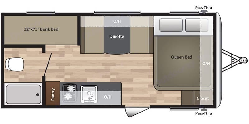 springdale 2017 18 foot bunkhouse trailer for rent sleeps 6 2017