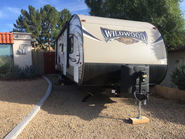 Exterior . Forrest River Wildwood 263BHXL 2018