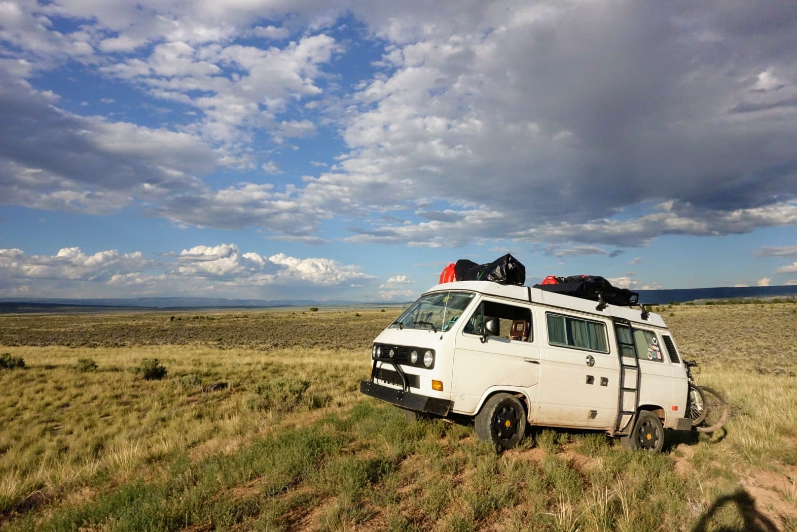 Somewhere in Southwestern Colorado. Volkswagen Westfalia T3 1984