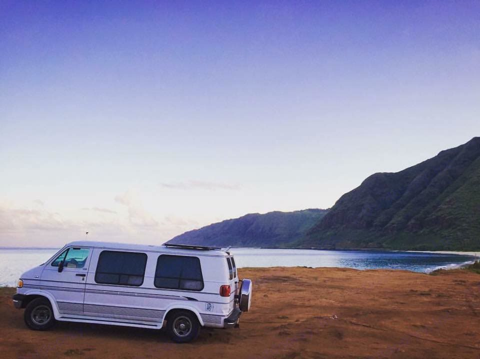 """""""Wanderlust: n. a strong desire for or impulse to wander or travel and explore the world."""" . Dodge Ram B2500 1995"""