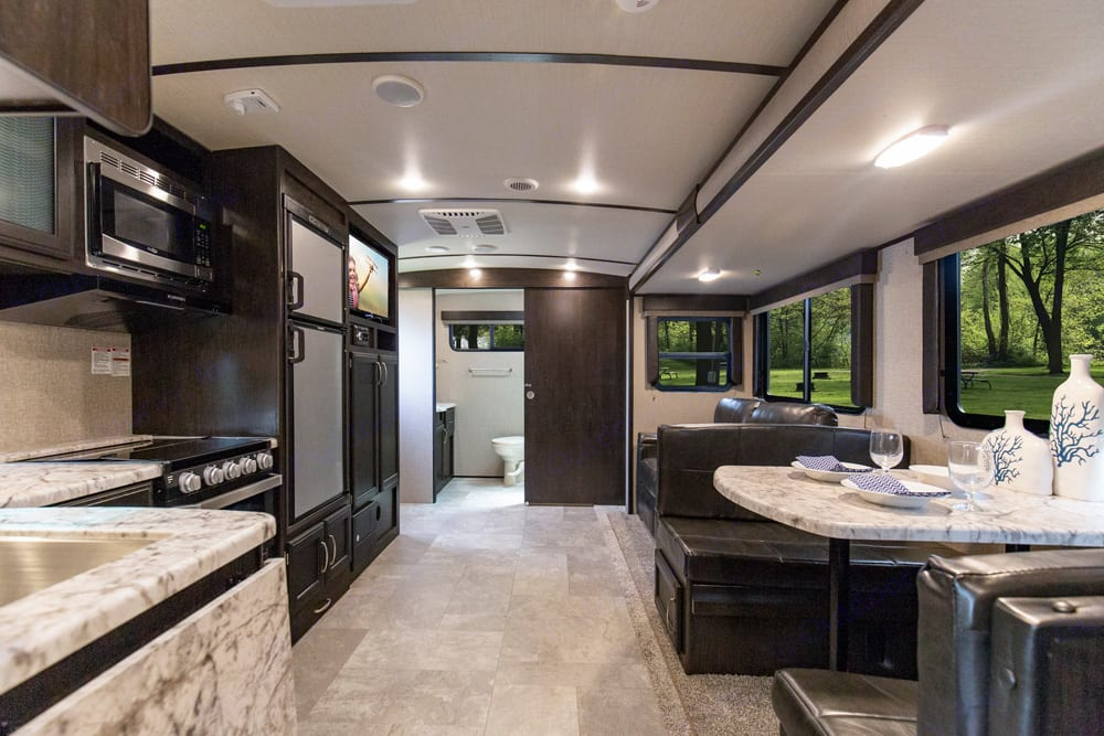 Interior - Lots of windows, light, and space. Grand Design Imagine 2019