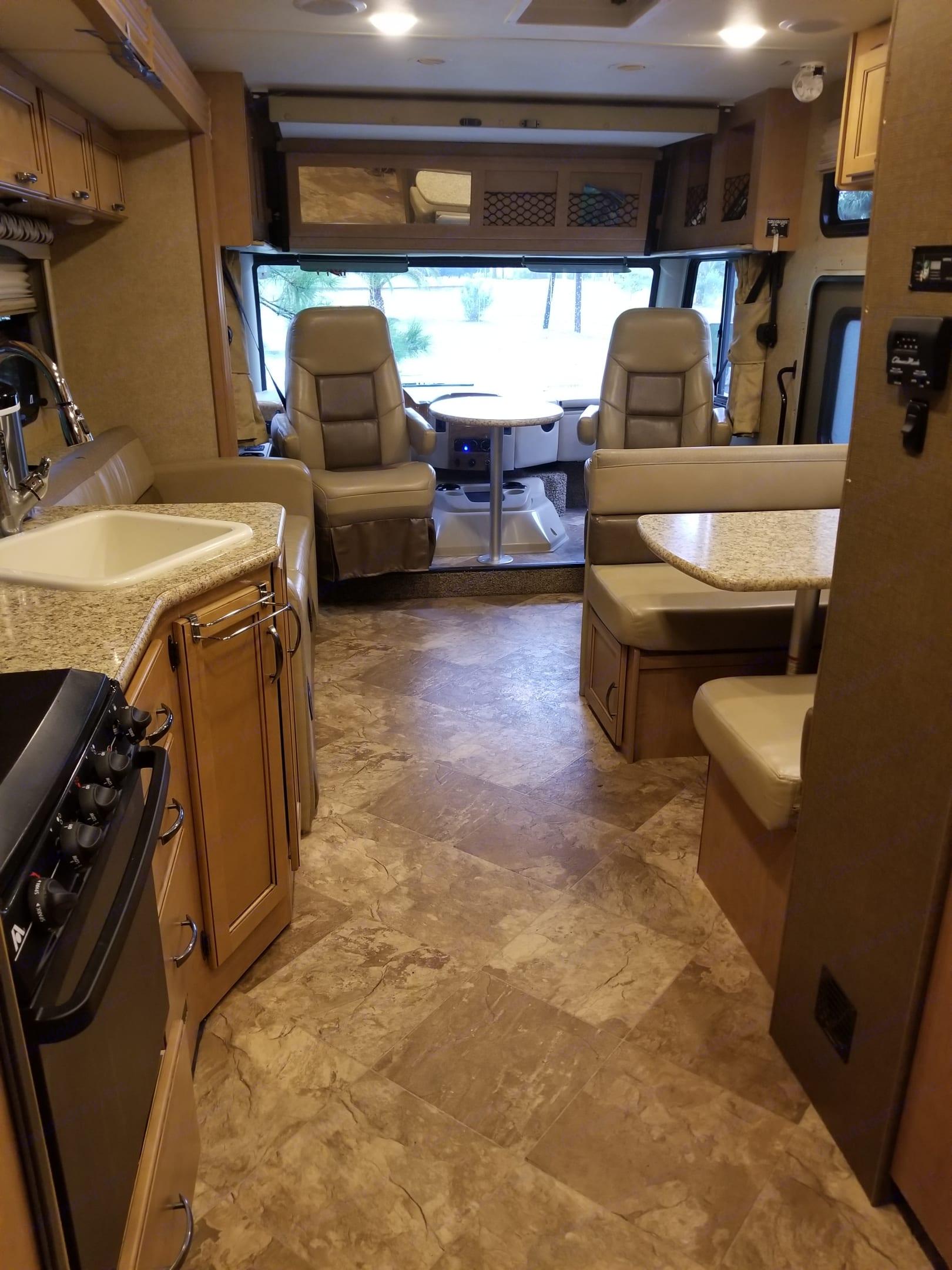 spacious living area. Thor Motor Coach A.C.E 2016