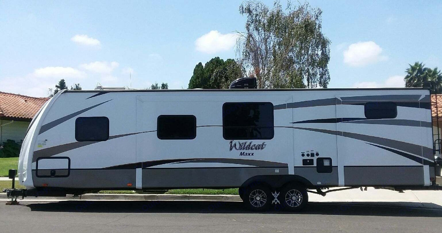 Wildcat Maxx Temporary Trailer during Remodel/Emergency Disaster- DELIVERED FULLY STOCKED. Temporary Long Term Housing / Remodel / Disaster Relief Trailers DELIVERED and Fully Stocked 2018