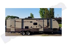 Grey Wolf Bunkhouse Temporary Trailer during Remodel/Emergency Disaster- DELIVERED FULLY STOCKED. Temporary Long Term Housing / Remodel / Disaster Relief Trailers DELIVERED and Fully Stocked 2018