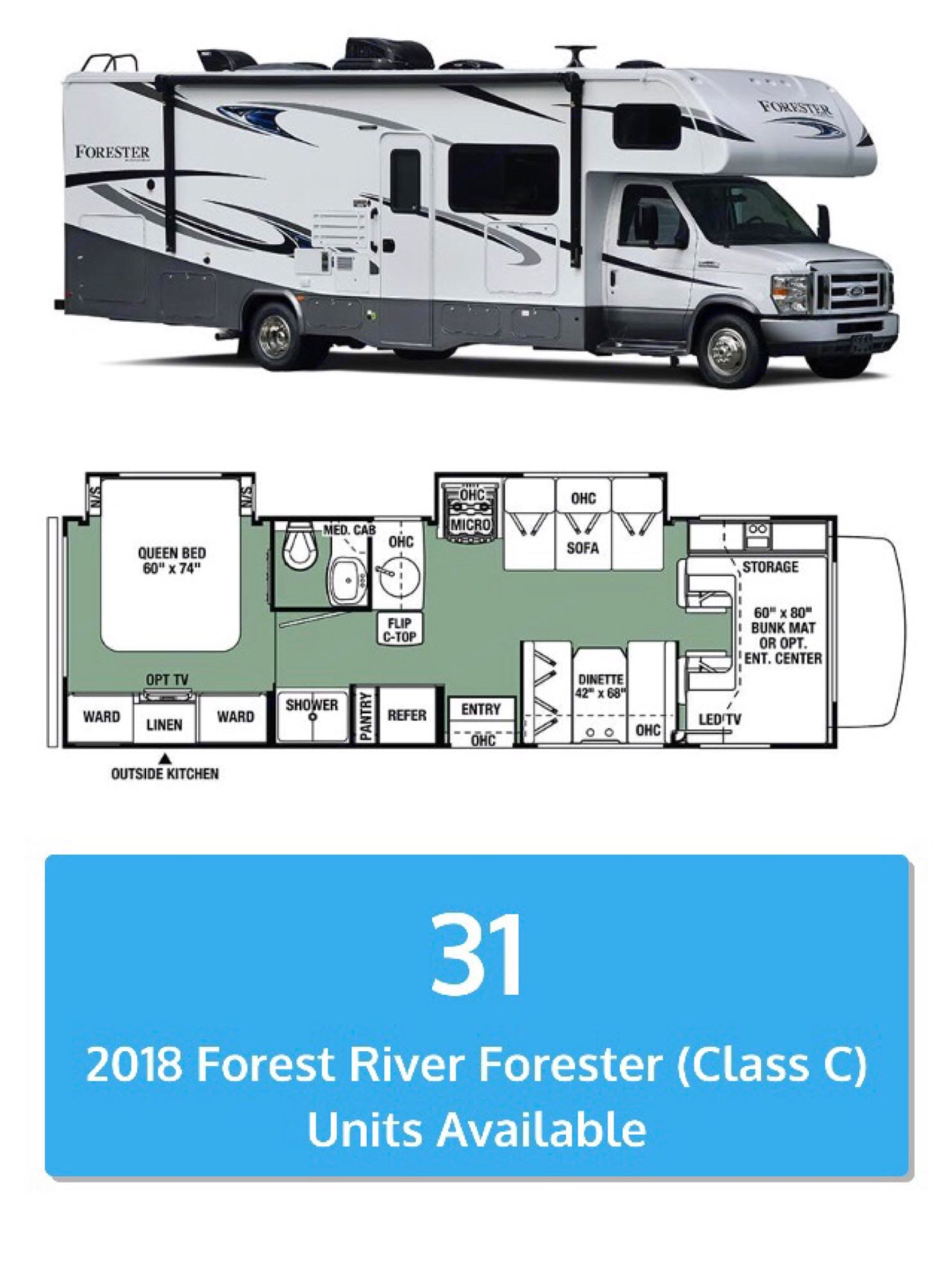 Forest River Forester 2011