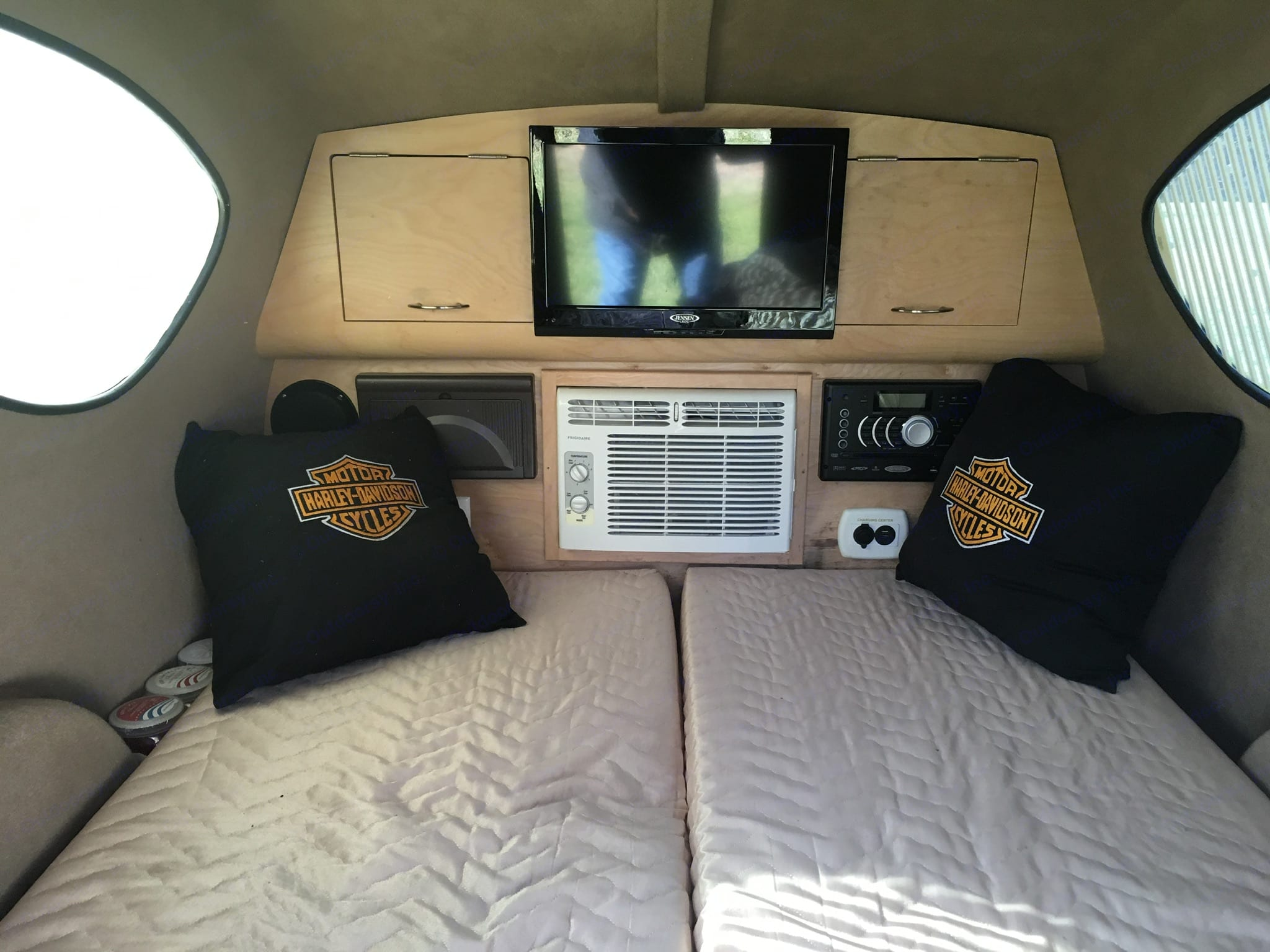 Camper has TV, DVD, stereo, and AC. Little Guy Other 2015