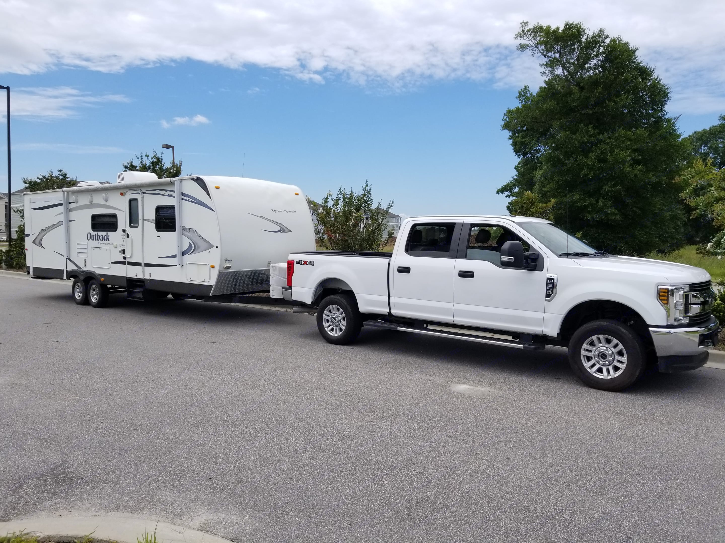 We deliver to the campsite you rented so you don't have to worry about hauling a large camper!. Keystone Outback 2010