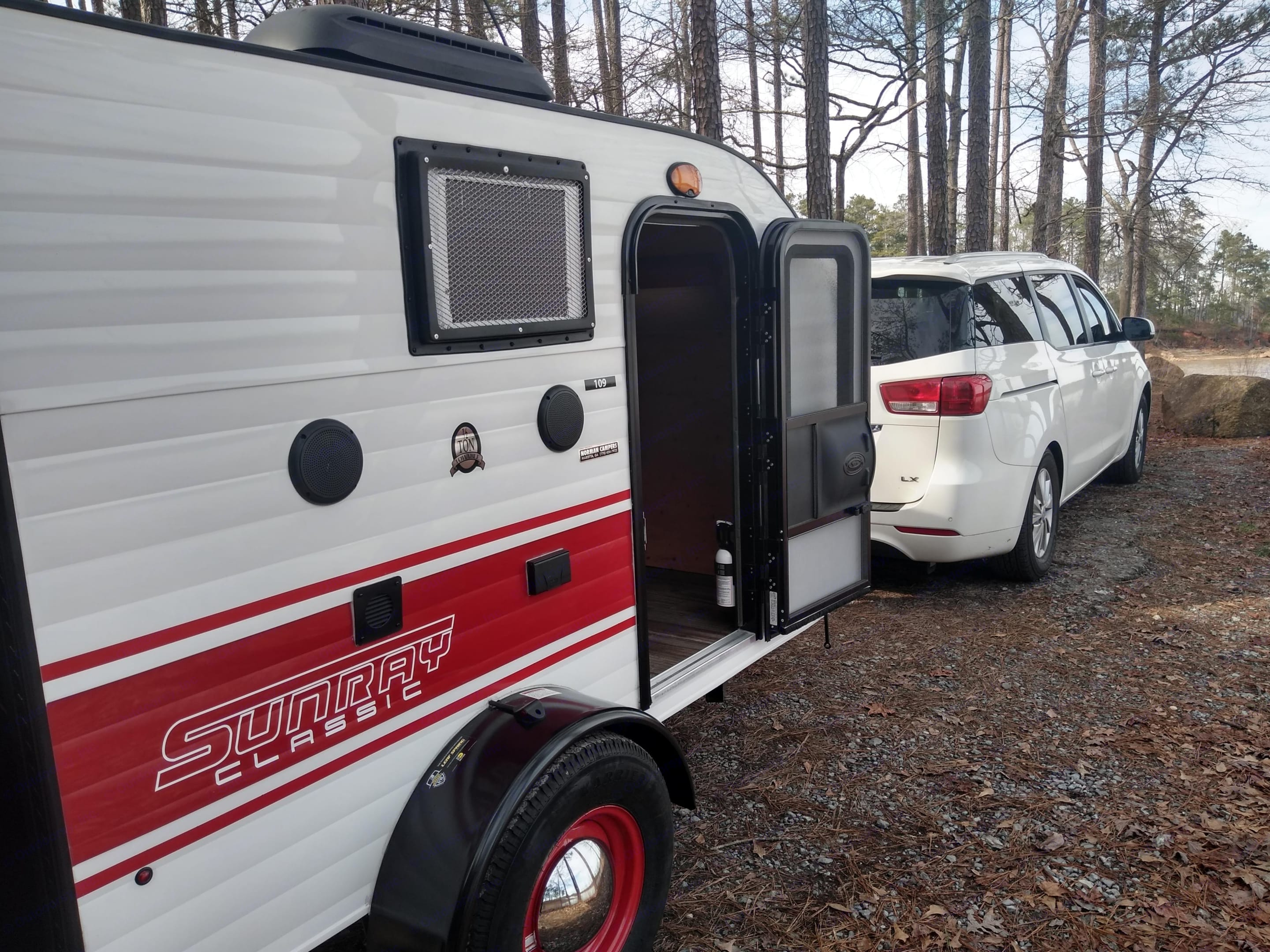 10' and requires a 30amp site with partial hook up.. Sunset Park & Rv Inc. Other 2019