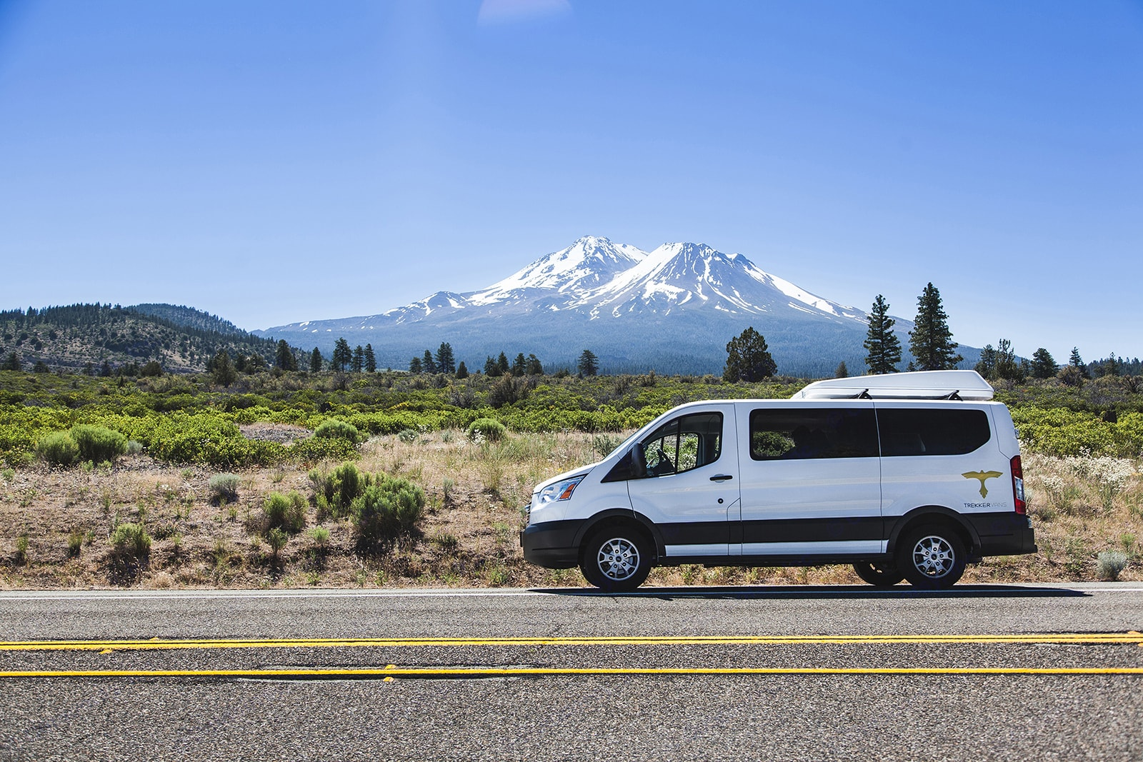 Trekker Vans are allowed anywhere in the United States and Canada. The itinerary (or lack thereof) is up to you!. Ford Van 2016