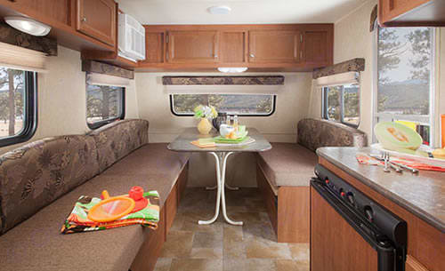 Spacious interior. Jayco Jay Flight Swift 2013