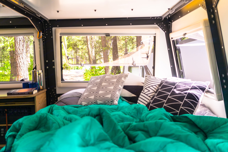 Rear bed. TAXA Outdoors Mantis Trek 2018