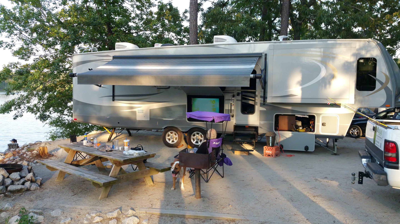 Wildwood Campground, GA. Open Range Light 311FLR 2015