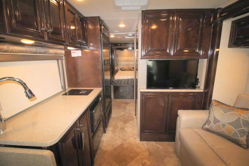 Very nice cabinetry.. Thor Motor Coach Four Winds Siesta Sprinter 2018