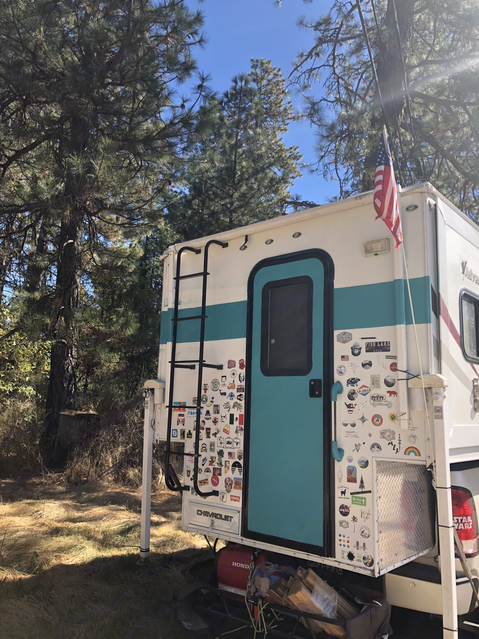 Pull up and camp in the redwoods, or the beach!. Adventurer Lp Adventurer 2013