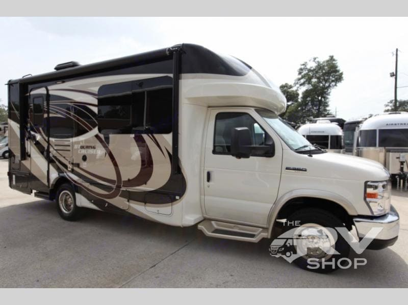 This is our coach at the Dealership.  We bought it in October 2021. Gulf Stream B Touring Cruiser 2021
