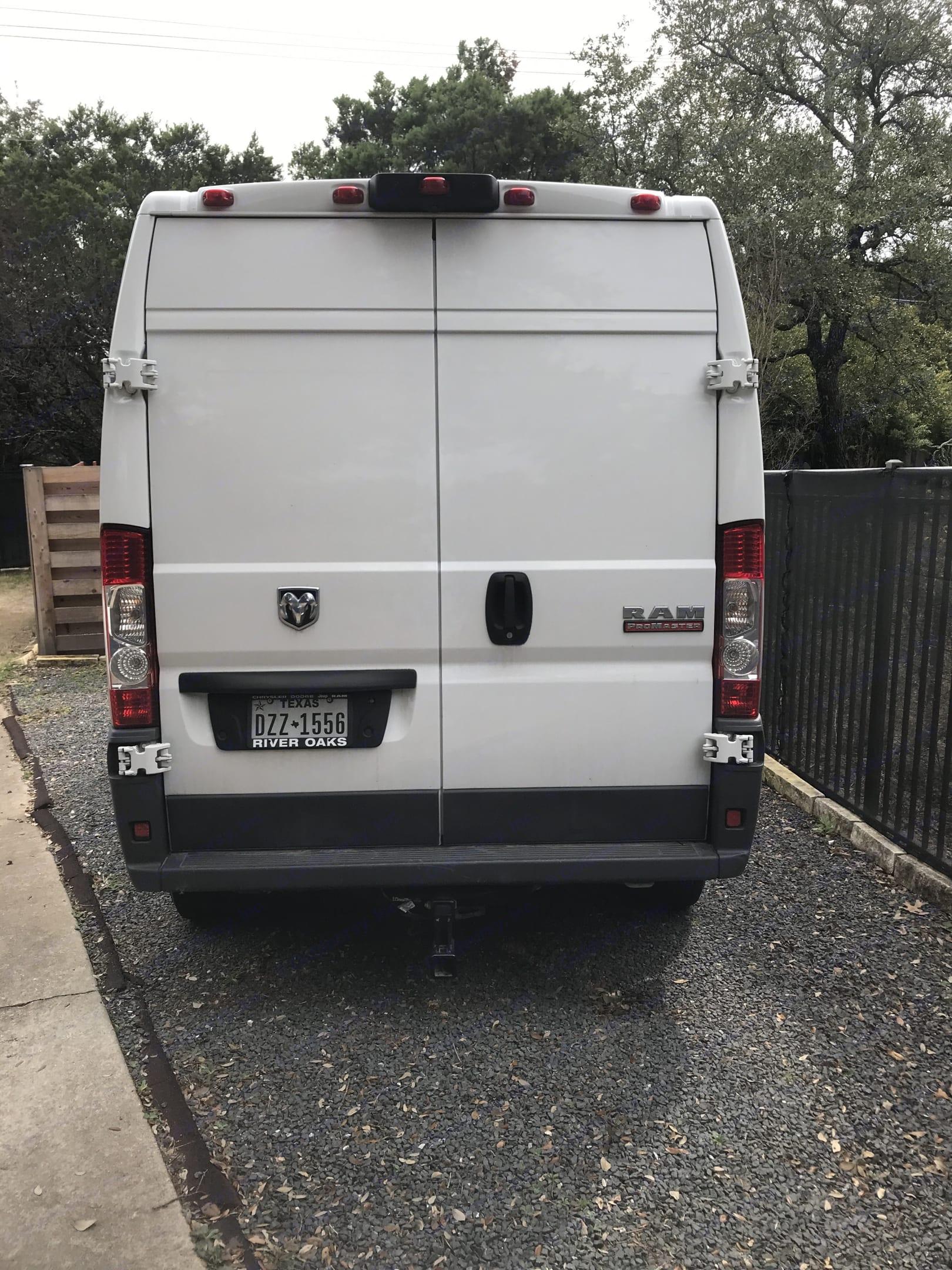 Easy access through back doors or sliding side door. Dodge Other 2014