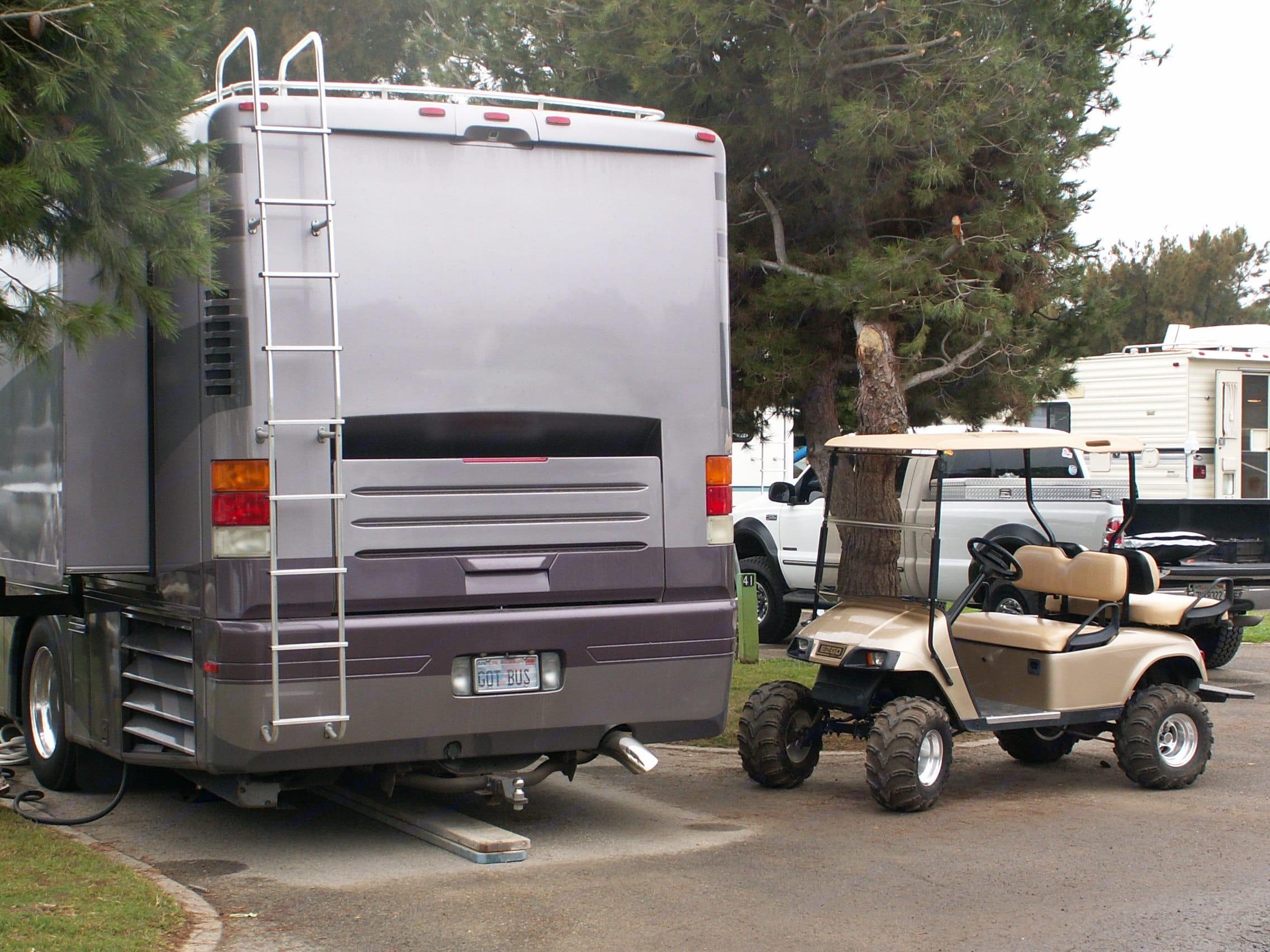 Spending time at Ventura RV Beach Park  Let the good times roll. Newmar Dutch Star 2001