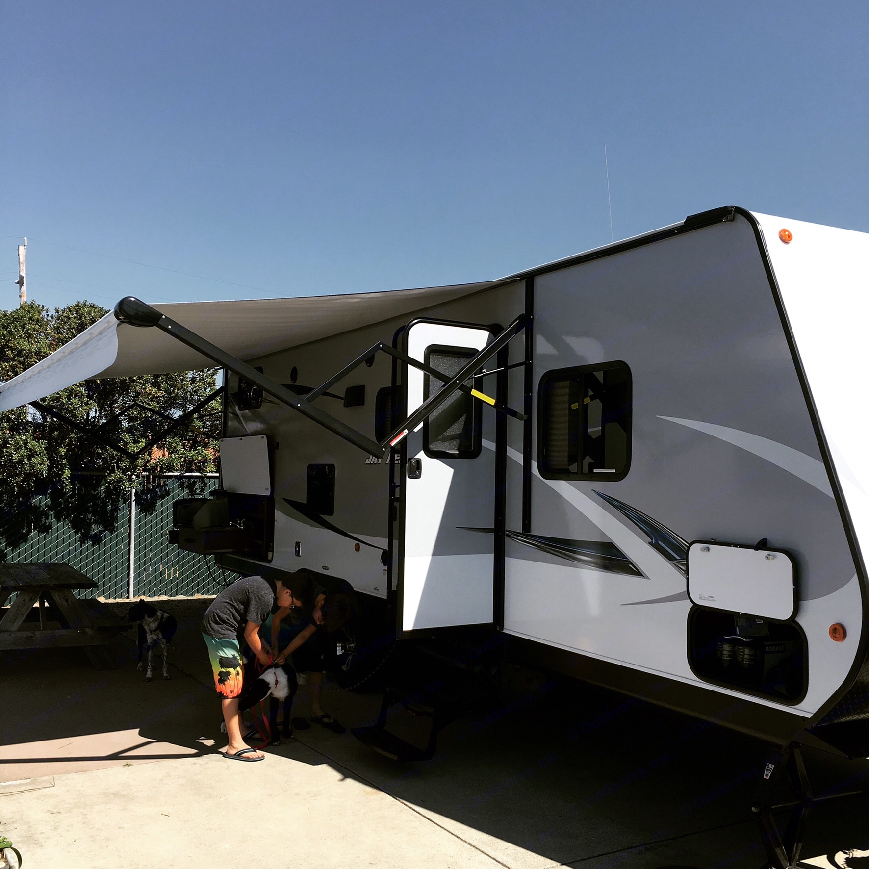 All set up and being enjoyed!. Jayco Jay Feather 25BH 2017