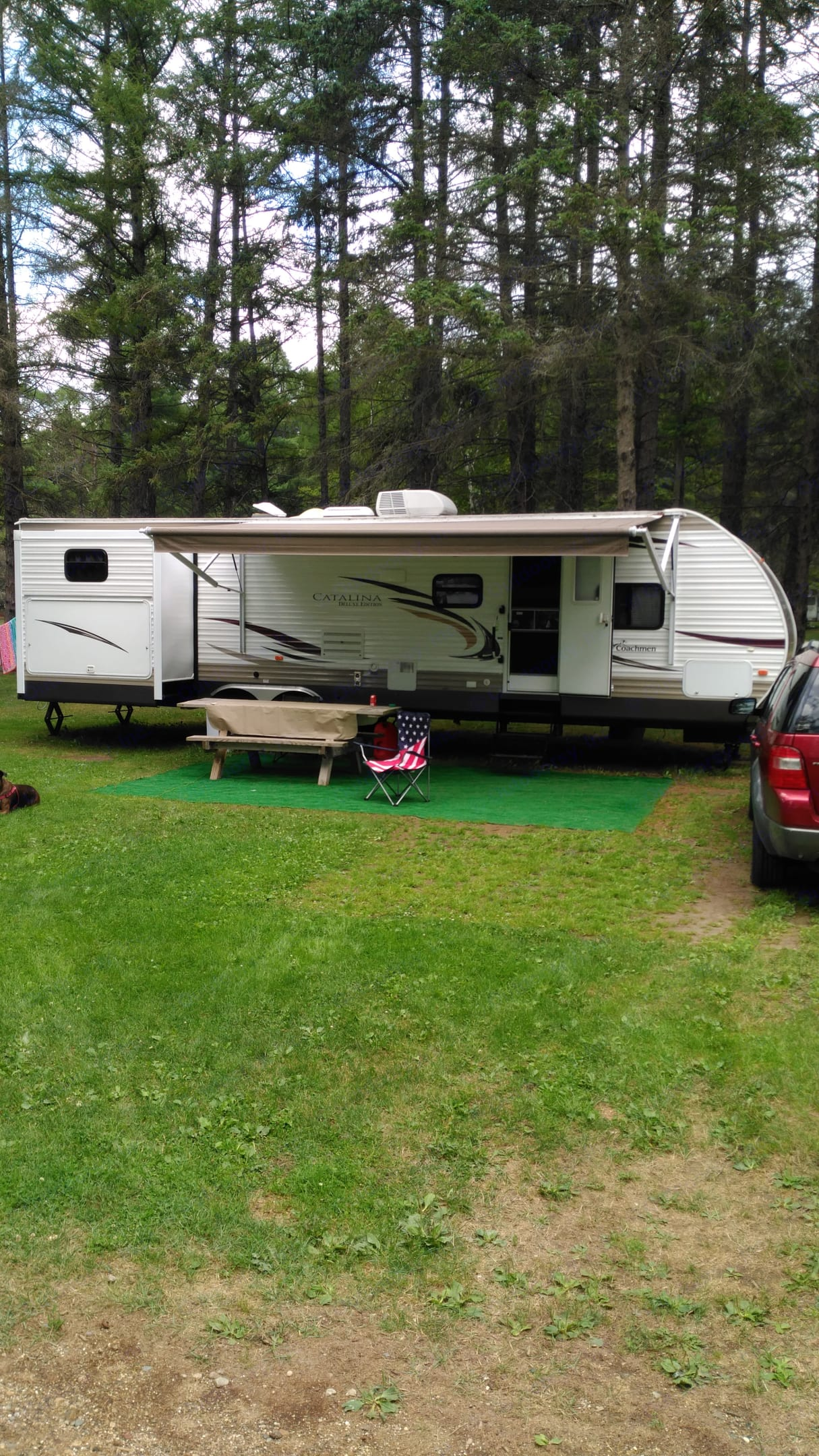 Awesome 36 foot Coachmen Catalina Deluxe. Are you ready to camp.  . Coachmen Catalina 2013