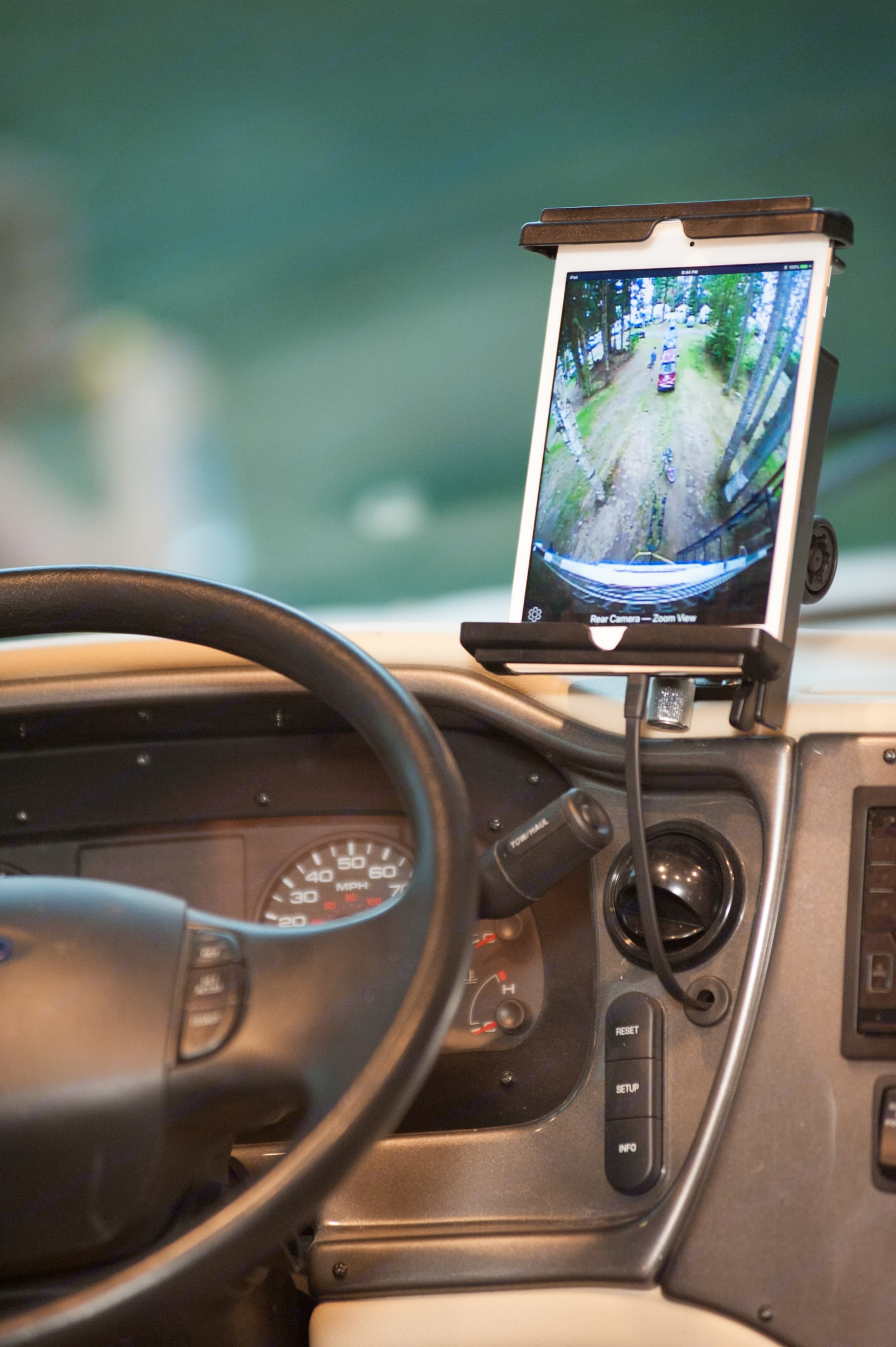 exterior video surround view and tire pressure monitoring system to keep you and your family safe on the road.  . Tiffin Motorhomes Allegro Open Road 2018