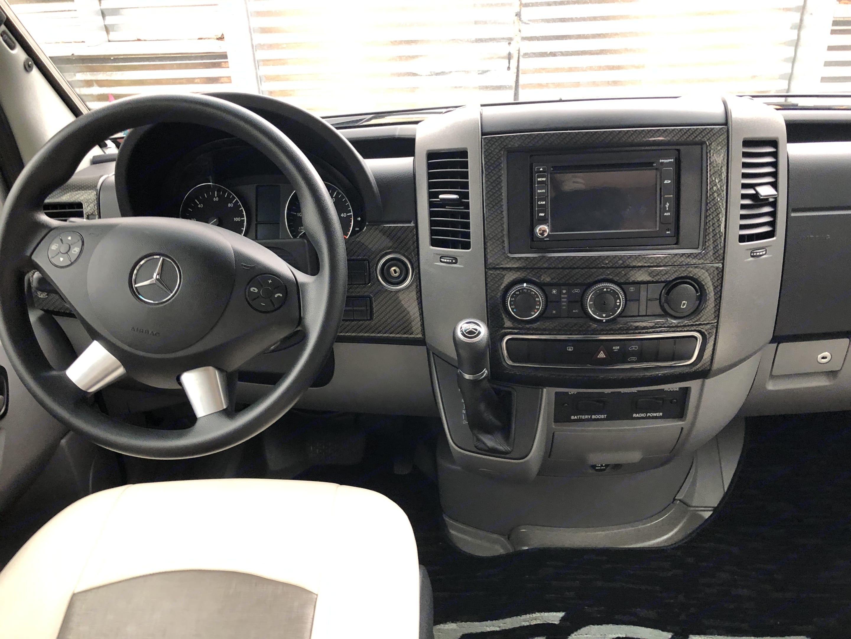 Bluetooth and review camera.. Mercedes-Benz Sprinter 2015