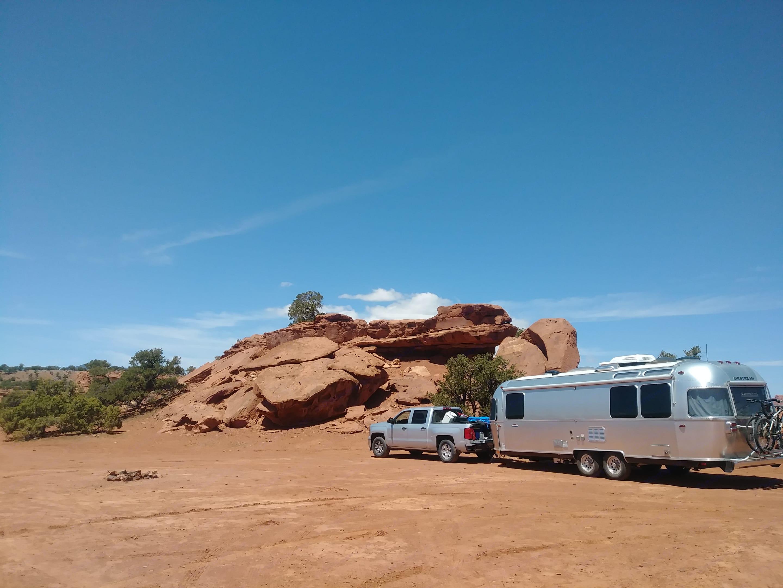South Colorado BLM Campsite. Airstream International 2017