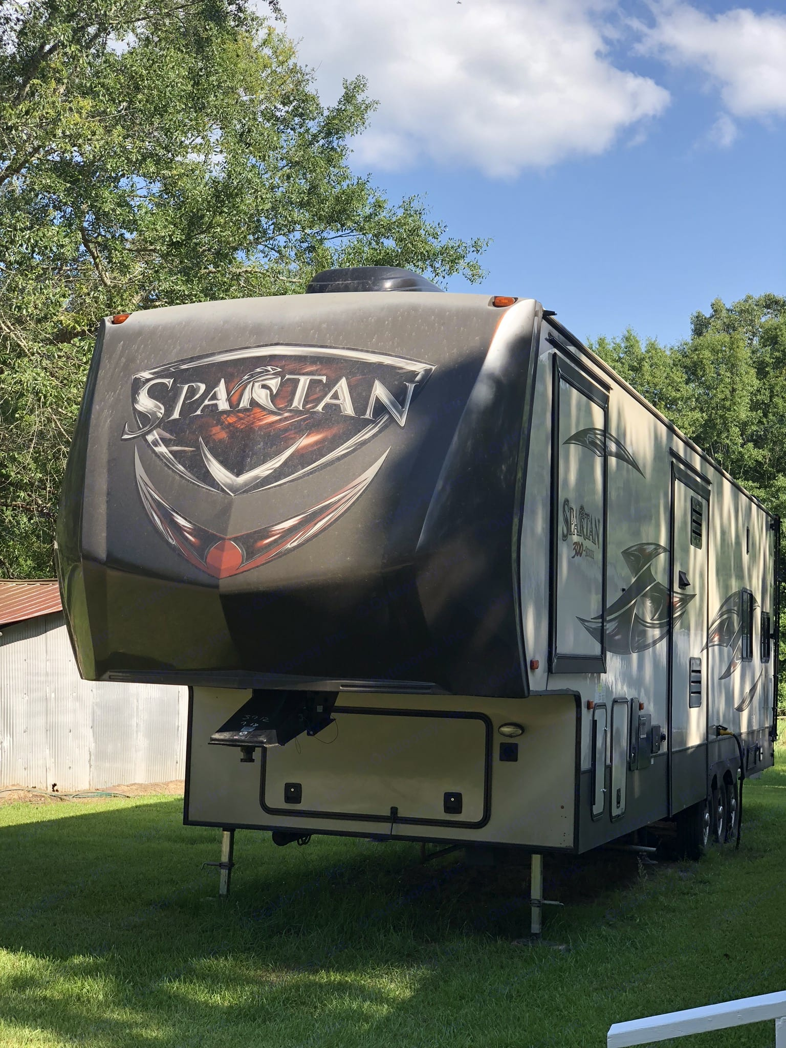 Ready for luxury camping!. Prime Time Spartan 2016