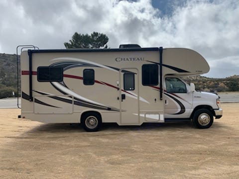 Not too long in case the wife wants to drive.. Thor Motor Coach Chateau 2018