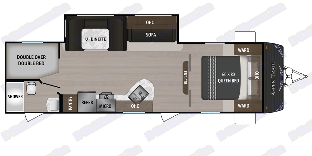 ASPEN 2810BHS 2019