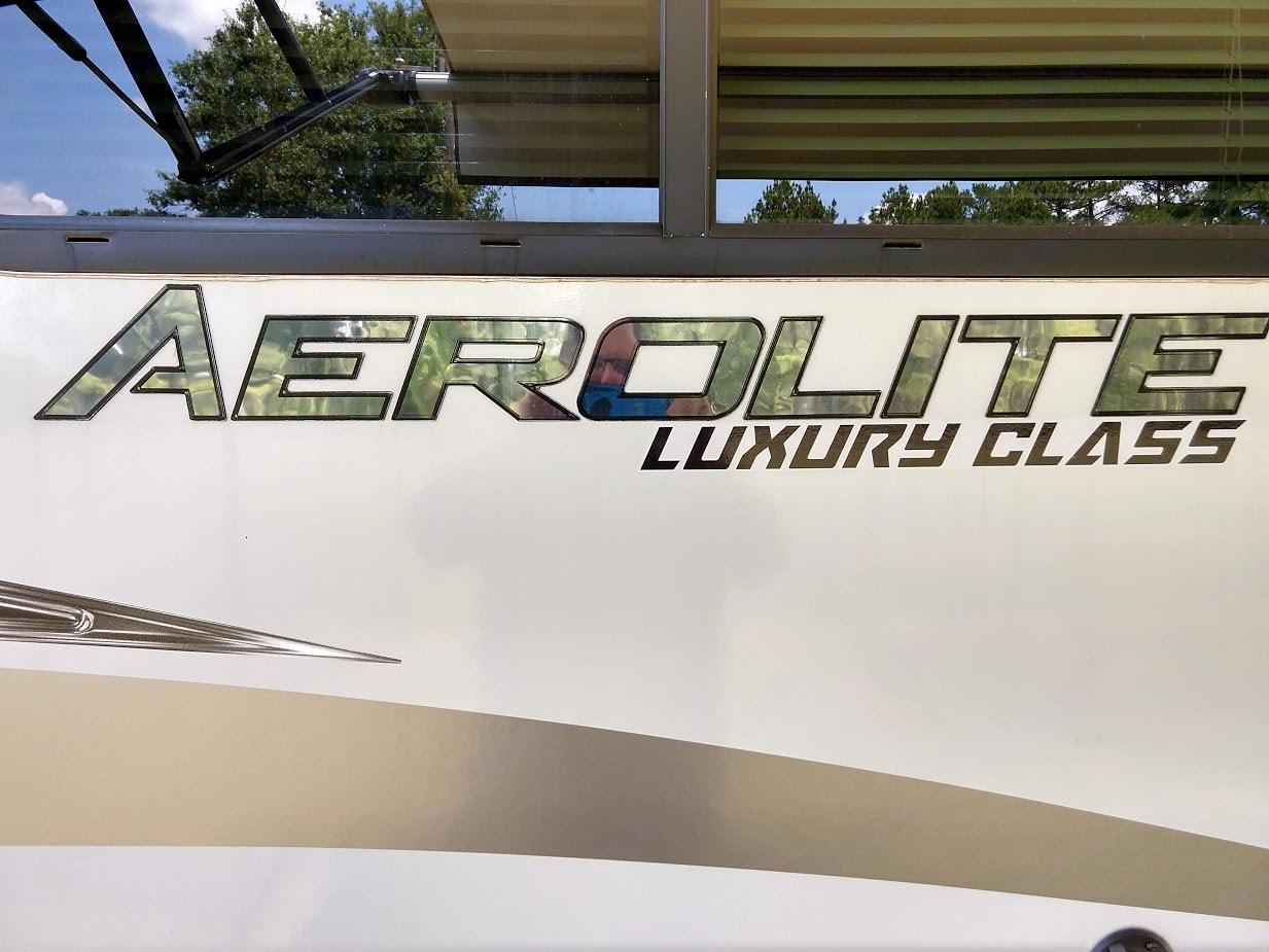 Top class exterior design.. Aerolite Travel Trailer 2018