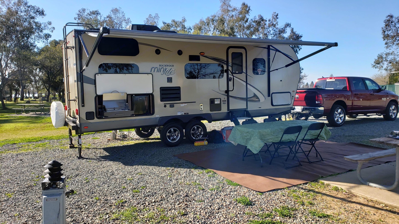 Weekend Getaway!!. Forest River Rockwood Mini Lite 2019