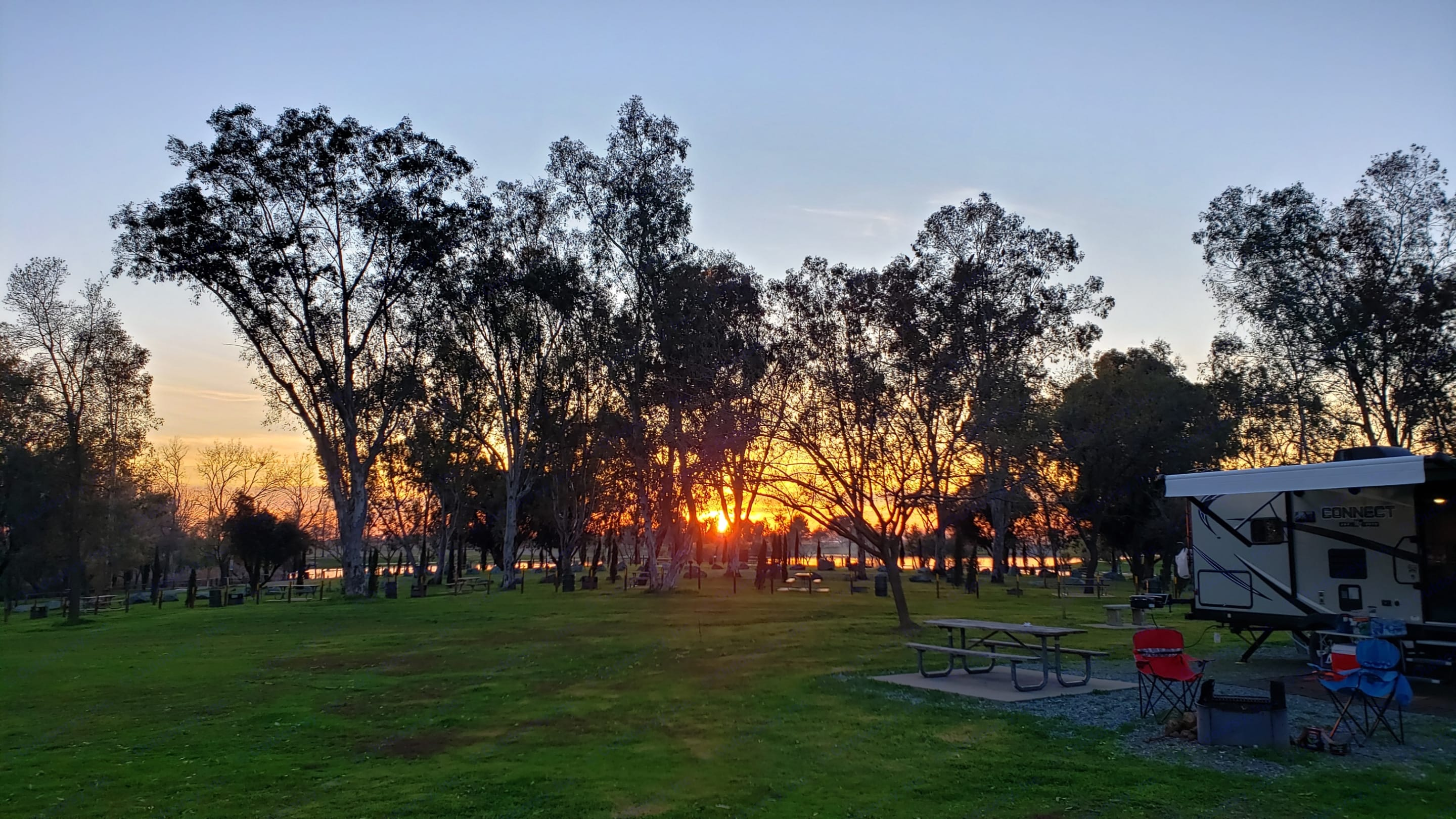 Sunsets Are Special When You're RVing!. Forest River Rockwood Mini Lite 2019