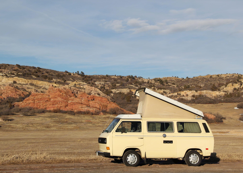 Meet Eleanor; part-time camper, full-time van.. Volkswagen Vanagon 1983
